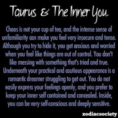 Taurus and the inner you.
