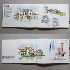 Travel sketchbooking on the Palladian Odyssey - Liz Steel : Liz Steel