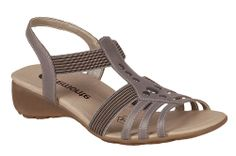 Remonte R5204 Ladies Elasticated Casual Sandal - Robin Elt Shoes  http://www.robineltshoes.co.uk/store/search/brand/Remonte/ #Spring #Summer #SS14 #2014 #Sandals