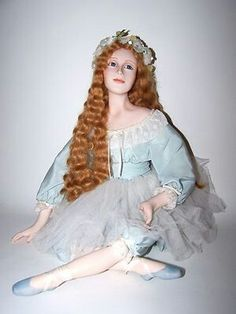 Limited Edition Avigail Brahm Beautiful Porcelain Doll Vintage Porcelain Dolls, Camille, Collector Dolls, Doll Toys, Harajuku, Victorian, Beautiful, Collection, Anna