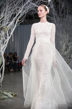 long sleeves Monique Lhuillier, Bridal Designer, Talks Fall 2013 Collection, Trends