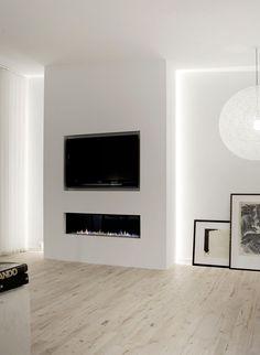 TV Wand XXL In Betonoptik Fur Kunden Solingen