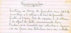 As Receitas da Avó Helena e da Avó Eduarda: Francisquinhas