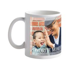 We would have to make at least a dozen of these. The hardest thing about make a Treat mug is choosing just one picture.  #FathersDay  Treat.com