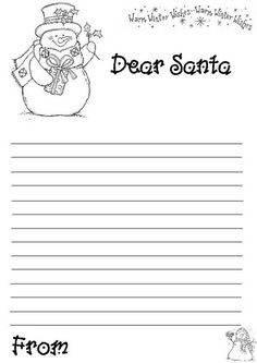hundreds of free printable xmas coloring pages and xmas activity sheets for children of all ages santa letter templateletter
