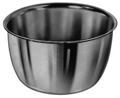 Stainless Steel Iodine Cups, 6 and 14 oz.