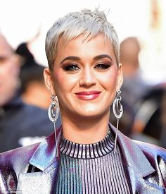 Image result for katy perry short hair