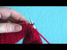 Knitting Increase In Next Stitch Purlwise : How To: Make 1 (M1) - YouTube *** Crochet/knitting techniques and edgings ...