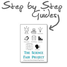 The Science Fair Project: A Step by Step Guide from Elemental Science provides you with the tools you need to lead your students through completing a #sciencefairproject.