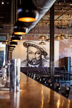 Wicked Weed Brewing: Asheville Brewtography Andrew May Photography Pub Design, Brewery Design, Coffee Shop Design, Bistro Design, Decoration Restaurant, Deco Restaurant, Restaurant Design, Restaurant Lighting, Brewery Interior