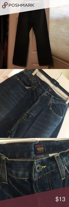 Men's Jean Von Dutch, size34, 100% Cotton, new condition,made in USA Von Dutch Jeans Flare & Wide Leg