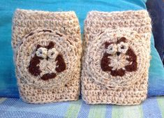 Ravelry: hesterbox's Wise Owl Knee Pads