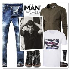 """""""It's a Man's World"""" by oshint ❤ liked on Polyvore featuring Bad Norwegian, Prada, men's fashion, menswear, cool, fabulous, MensFashion, wonderful and twinkledeals"""
