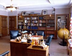 Preservation of Harry Truman's Office at the Truman Library