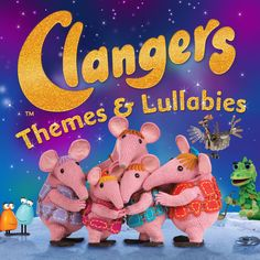 Clangers 'Themes & Lullabies' EP is out now! Whistle along to 15 magical tracks, composed by John Du Prez, including the theme tune, Mother's Melody and the Sky Moo theme. Enchanting music for Clangers of all sizes, available now via iTunes.  ‪#‎Clangers‬ ‪#‎music‬