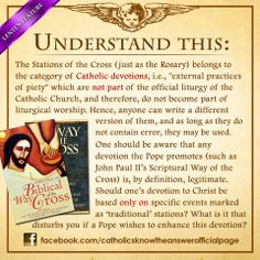 11 MARCH 2014 - Something to understand and reflect on the devotion of the Way of the Cross: —