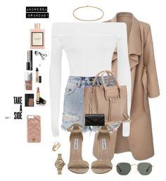 """Untitled #862"" by andressabrandao1 ❤ liked on Polyvore featuring WearAll, Ksubi, Ray-Ban, Christian Dior, Shinola, Gucci, Steve Madden, Cartier, Balenciaga and NARS Cosmetics"