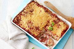 1 oktober - Hamreepjes in de bonus - Deze lasagne maak je in 5 minuten en dan doet de oven de rest - Recept - Allerhande