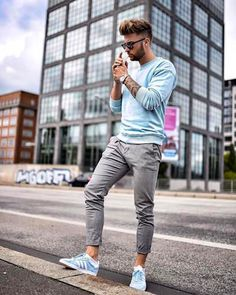 Pin by health and fitness on men's fashion moda masculina ad Mode Outfits, Sport Outfits, Casual Outfits, Men Casual, Fashion Outfits, Fashion Styles, Fashionable Outfits, Fashion Ideas, Casual Fall