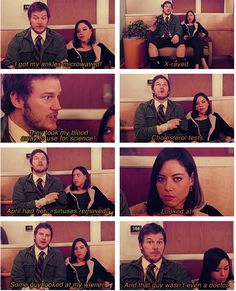 one of the funniest scenes in parks and rec
