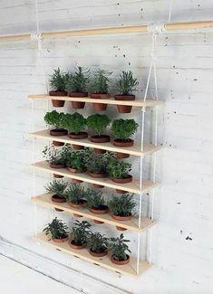 Flowers shelf / 7 идей украшения дома к весне - Ярмарка Мастеров - ручная работа, handmade