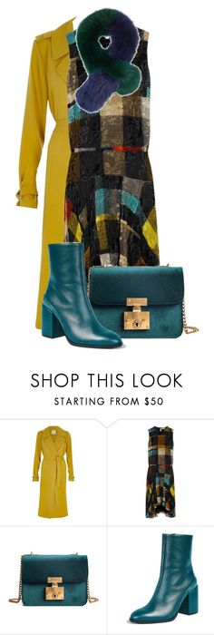 """""""Autumn 🍂"""" by subvilli on Polyvore featuring River Island, Preen, Dear Frances, Charlotte Simone, polyvoreeditorial, polyvorefashion and autumn2017"""