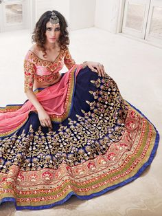 New and stylish wedding Lehenga choli designs 2017 is given in this article which is gainful for ladies. You can get motivation.