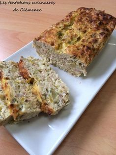 Tuna and leek terrine with 2 mustards Cold Appetizers, Appetizer Recipes, Easy Diner, Salty Foods, My Best Recipe, Foods With Gluten, Fish Dishes, Savoury Cake, Food Inspiration