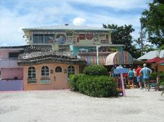 The Bubble Room, Sanibel FL. American cuisine with a decor of miscellaneous memorabilia from the '30s, '40s, and '50s. It's on Captiva... Not Sanibel but so much fun!