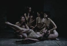 Justyna Neryng -Ghost Dance VI, 2014/ 1 Aukcja Sztuki Erotycznej. Katalog i szczegóły: http://bit.ly/1ASE_katalog.  Wystawa do 29.07. Aukcja: 29.07 19:00 #eroticart