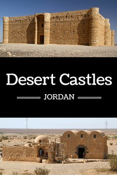 Desert Castles, Jordan - Standing in the middle of the desert, those castles are quite intriguing - Click to open the guide with many photos and detailed information to plan your visit