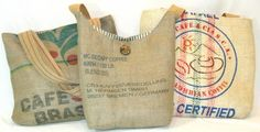 upcycled burlap - Google Search