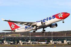 A #Edelweiss vai voar para o #Brasil com jatos #A330 com 315 assentos.