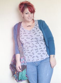 Curvy World: Fizzy Plus Size Outfit