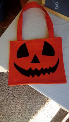 A personal favorite from my Etsy shop https://www.etsy.com/listing/468583754/jack-olantern-halloween-bags-trick-or