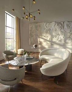 Are you looking to brighten up a dull room and searching for interior design tips? One great way to help you liven up a room is by painting and giving it a whole new look. Dream Home Design, Home Interior Design, Interior Architecture, Interior Decorating, House Design, Luxury Interior, Interior Inspiration, Room Inspiration, Living Room Decor