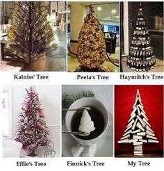 Lol haha funny pics / pictures / Hunger Games Humor / Christmas Trees