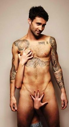Usually not too fond of tattoos, but his don't bother me at all ;-)