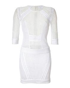 IRO Semi-Sheer Mesh Dress