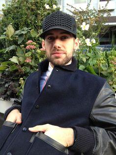 "Julien of LookBookNYC with Fashion entrepreneur/ blogger Justin Bridges ""Tucked Style"""