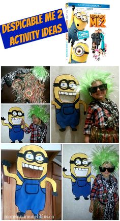 Despicable Me 2 Activities for Family Fun #Minions www.momsandmunchkins.ca