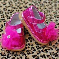 Convertible Sparkle Hot Pink Shoes