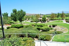 A clean and sparkling view of River Walk Park in Eastvale, California. http://youreastvalerealtor.com/eastvale-parks/