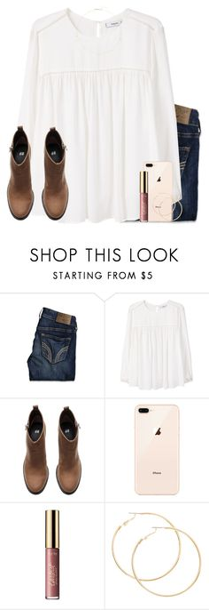"""happy resurrection day!! ✝️✝️"" by jasietote ❤ liked on Polyvore featuring Hollister Co., MANGO, H&M, tarte and ZoÃ« Chicco"