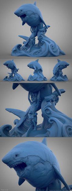Shark Bait by Franco DeRosa: