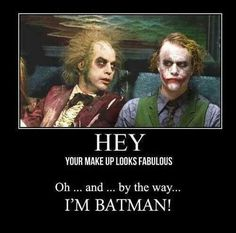 Michael Keaton Batman/Beetlejuice Okay, that's just funny right there!!