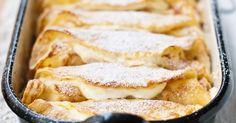 Überbackene Pfannkuchen mit Topfenfüllung | eatsmarter.de