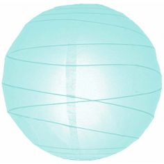 8 Round Criss-Cross Paper Lanterns - Arctic Ice Blue [FSL8IC Arctic Blue Paper Lantern] : Wholesale Wedding Supplies, Discount Wedding Favors, Party Favors, and Bulk Event Supplies