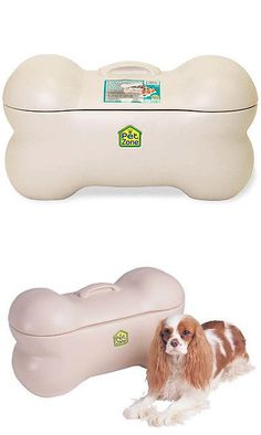 Dog Lover Products 116378: Large Pet Storage Bin Dog Toy Bone Supplies Paw Prints Puppy Zone Leashes Food -> BUY IT NOW ONLY: $54.99 on eBay!
