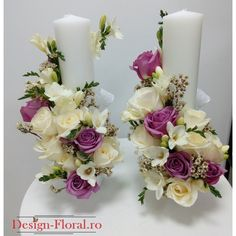 Candle Arrangements, Christmas Flower Arrangements, Floating Candle Centerpieces, Floral Centerpieces, Pillar Candles, Wedding Centerpieces, Floral Arrangements, Diwali Craft, Handmade Candles